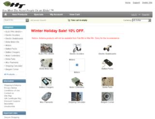 store.hightekbikes.com screenshot