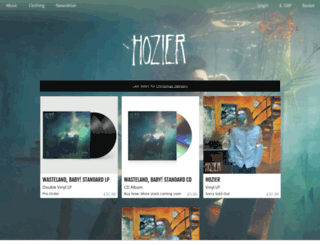 store.hozier.com screenshot