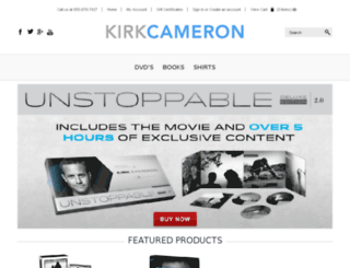 store.kirkcameron.com screenshot