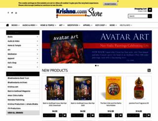 store.krishna.com screenshot