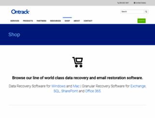 store.krollontrack.com screenshot