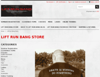 store.lift-run-bang.com screenshot