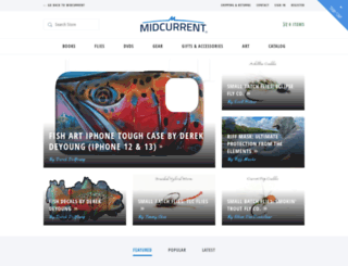 store.midcurrent.com screenshot