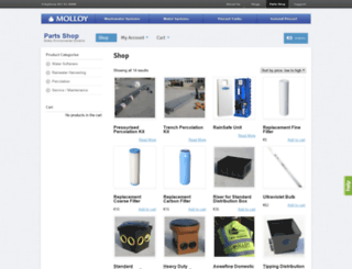 store.molloyprecast.com screenshot