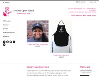 store.openhand.org screenshot