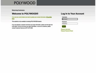 store.polywooddealer.com screenshot