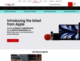 store.qantas.com screenshot