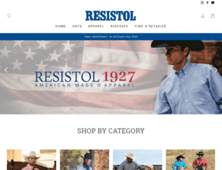 store.resistolhat.com screenshot