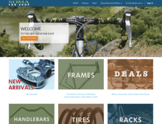 store.somafab.com screenshot