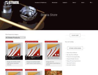 store.strata.com screenshot