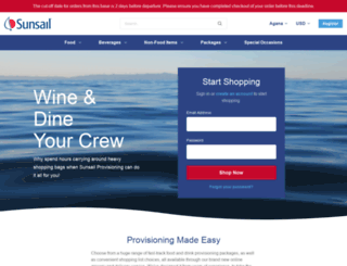 store.sunsail.com screenshot