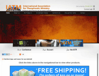 store.theophostic.com screenshot
