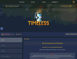 store.timelesspvp.net screenshot
