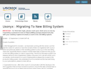 store.usonyx.net screenshot