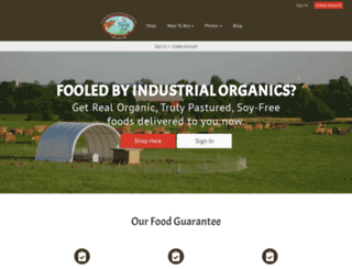 store.yourfamilyfarmer.com screenshot