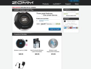 store.zomm.com screenshot