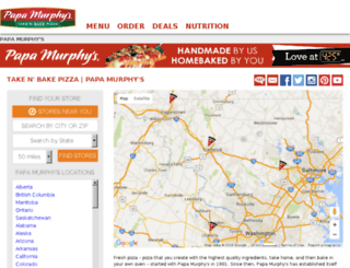 stores.papamurphys.com screenshot
