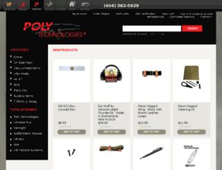 stores.polytechparts.com screenshot