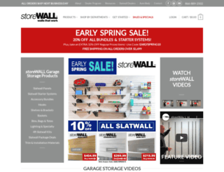 storewall.com screenshot