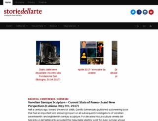 storiedellarte.com screenshot