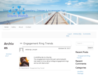stormwatches.com.au screenshot