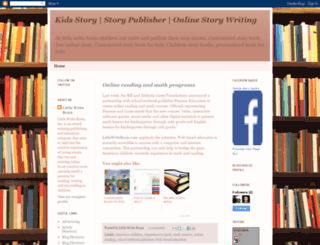 story-publisher.blogspot.com screenshot