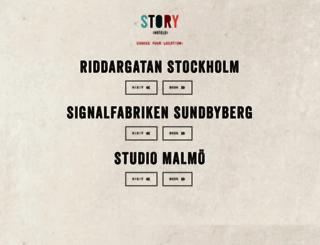 storyhotels.com screenshot