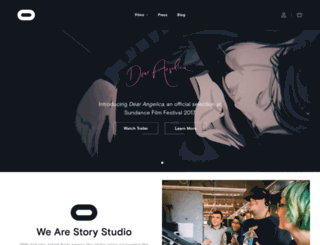 storystudio.oculus.com screenshot