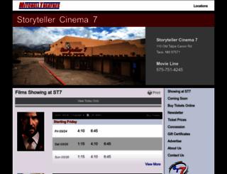 storyteller7.com screenshot