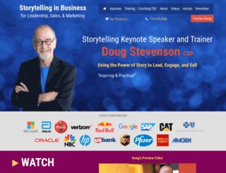 storytelling-in-business.com screenshot