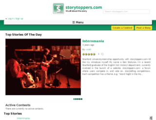 storytoppers.com screenshot