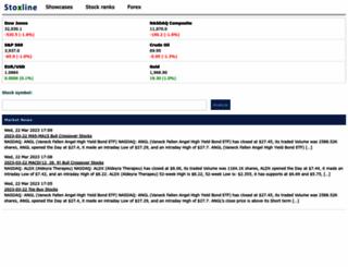 stoxline.com screenshot
