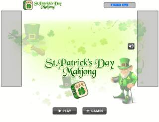 stpatricksdaymahjong.com screenshot