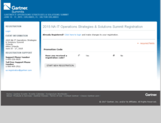 str31.gartnereventsregistration.com screenshot