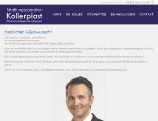 straffungsoperation.com screenshot
