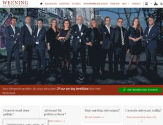 strafrechtadvocaten.nl screenshot