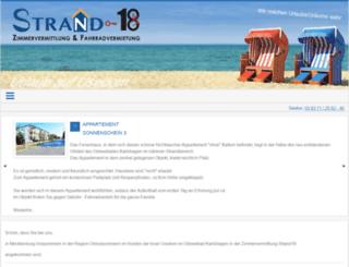 strand18.de screenshot