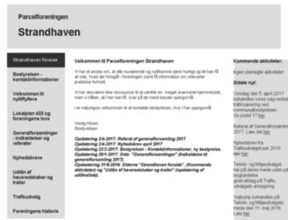 strandhaven.dk screenshot