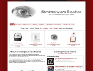 strangewaysstudios.co.uk screenshot
