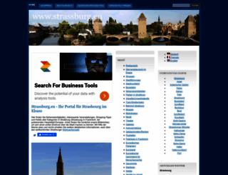 strassburg.eu screenshot