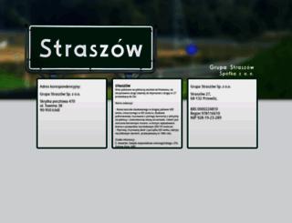 straszow.pl screenshot