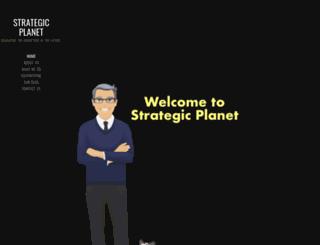 strategic-planet.com screenshot