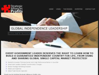 strategicalliancesprofits.com screenshot