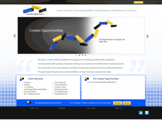 strategiccareers.com screenshot