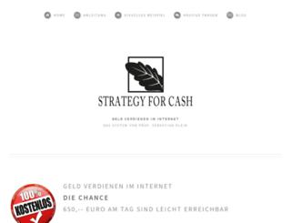 strategy-for-cash.com screenshot