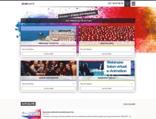 stratevent.fr screenshot