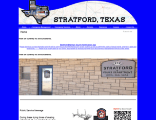stratfordtx.com screenshot