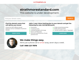 strathmorestandard.com screenshot