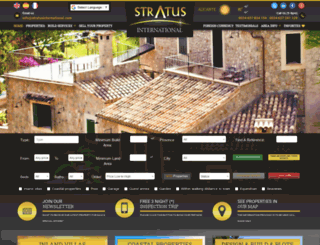 stratusinternational.com screenshot
