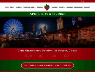 strawberryfestival.com screenshot